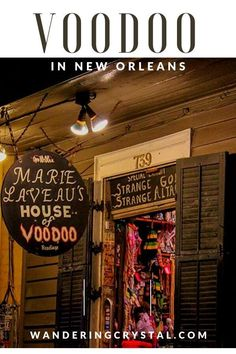 Visit New Orleans to see the truth behind Voodoo. Visit the Voodoo Queen of New Orleans shop, the Voodoo History Museum and more! New Orleans Vacation, Visit New Orleans, New Orleans Travel, New Orleans Shopping, New Orleans Museums, Us Travel Destinations, Voodoo Shop, New Orleans Voodoo, Marie Laveau