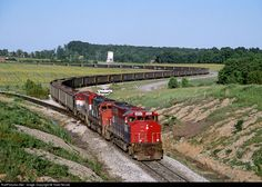 RailPictures.Net Photo: TP&W 4054 Toledo, Peoria & Western EMD GP40-2LW at Somerville, Indiana by Todd Novak