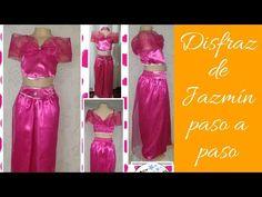 Diy, Two Piece Skirt Set, Poses, Skirts, Youtube, Dresses, Fashion, Carnival, Princess Jasmine Costume