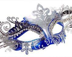 Blue Horned Masquerade MaskMasquerade Mask HornedMasquerade Mask BlueMasquerade MaskMask MasqueradeMasquerade Ball MaskMask