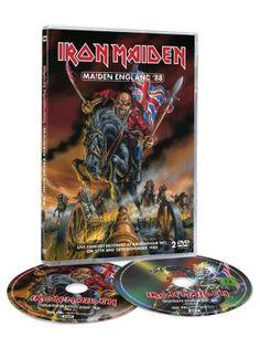 DVD Maiden England '88 por Iron Maiden $20.99 (euros) en EMP... Europe´s Rock Mailorder No.1 : La más grande venta por correo de Merchandising Oficial Musica Metal / Hard rock / Heavy / Ropa Gótica / Militar/ Lolita / Punk Style .. y mucho más
