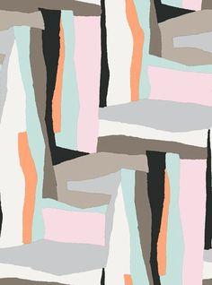 paper cut out fun! Marimekko - Erkki Toukolehto #collagecutout #surfacedesign