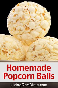 Here is an easy popcorn balls recipe, along with variations to make them special for various holidays! They are inexpensive, yummy and easy to make!