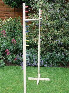 Giant Outdoor Games DIY | Garden Limbo Game - Ebeez.co.uk