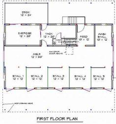 ranch style pole barn home | Pole Barn Homes With Floor Plan | Joy Studio Design Gallery - Best ...