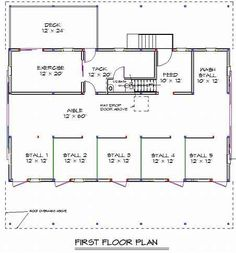 ranch style pole barn home | Pole Barn Homes With Floor Plan | Joy Studio Design Gallery - Best ...