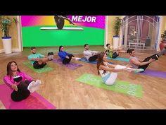 Posiciones básicas de Pilates para principiantes - YouTube