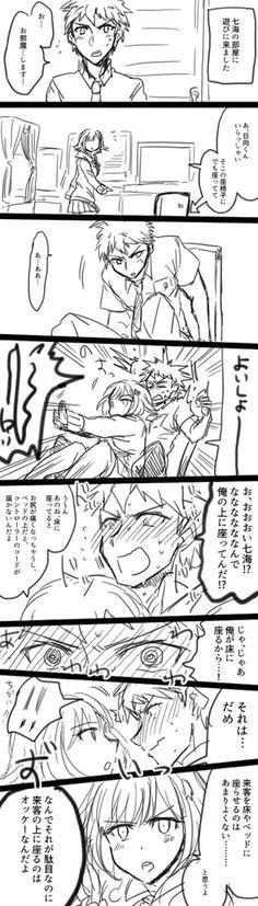 Cosa stai pensando Hinata kun!? Ti ricordo che sei gay. ( sto' scherzando , non mi piacciono poi così tanto gli yaoi. )