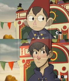 Screencap - Over the Garden Wall by Domiinus on DeviantArt<<The redrawn version looks like a Disney movie! Garden Wall Art, Over The Garden Wall, Steven Universe, Garden Falls, Avatar, Cartoon Crossovers, Owl, Star Vs The Forces Of Evil, Kids Shows
