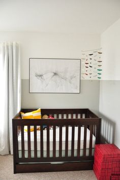 Color Blocking: Two-Tone Walls in Kids' Rooms | Apartment Therapy