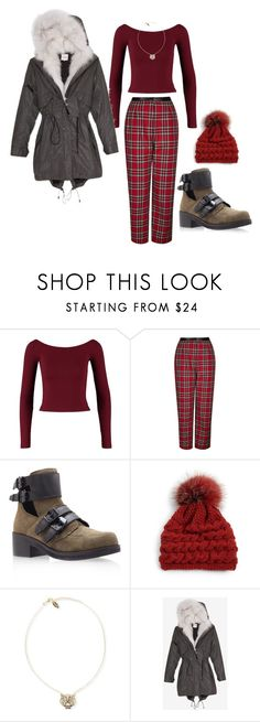 """everything is red pt.5"" by bluveraa ❤ liked on Polyvore featuring Mode, Miss Selfridge, Topshop, KG Kurt Geiger, Inverni, Kenzo und SAM"