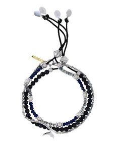 Marine bunch of Bracelets - Tada & Toy Young Designers, Beaded Bracelets, Toy, Collection, Jewelry, Fashion, Moda, Jewlery, Bijoux