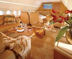 Oh this is soooo mine.......what a gorgeous interior.......dreaming is good for your health you know..... #luxuryprivatejet #luxuryhelicopter #luxuryjet