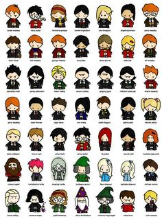 Harry Potter Chibi Characters :)