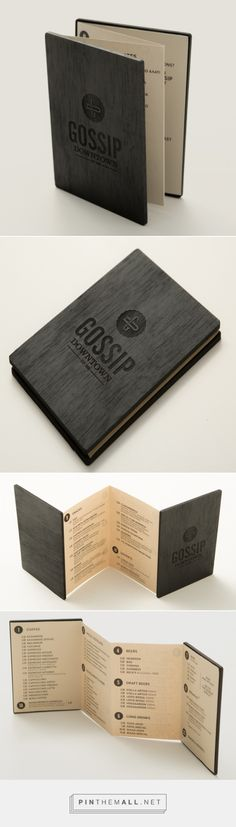 Art of the Menu: Gossip... - a grouped images picture - Pin Them All