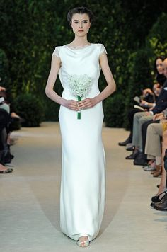 Carolina Herrera, Spring 2014 http://pinterest.com/nfordzho/dream-wedding/