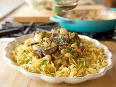 Get Snappy Stroganoff Recipe from Food Network