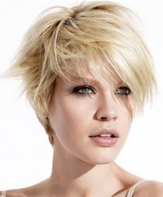 I'd love this as a wig - short hair style ideas