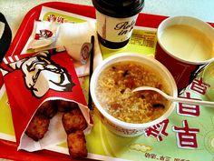 KFC in China- tofu, congee and soy milk