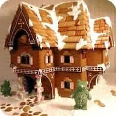 .gingerbread house