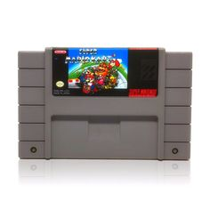 Super Mario Kart SNES Super Nintendo game, includes cartridge only. Cleaned, tested and comes with a FREE cart protector! Super Nintendo Console, Super Nintendo Games, Super Mario Kart, Third Person Shooter, Donkey Kong, Entertainment System, Go Kart, Sims 4, Games To Play