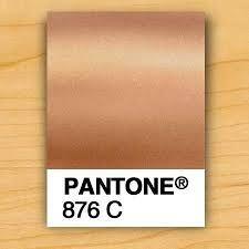Bildergebnis für pantone metallic rose gold