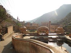 "Galta Ji Temple Jaipur:- also Known as ""Surya Temple"" 24 Hours Open its build by Diwan Rao Kriparam."