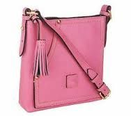 Dooney & Bourke - Huntington Leather Carrier - Baby Pink