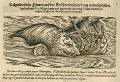 """Konrad Von Gesner - Details From """"Historia Animalium"""" (History Of Animals) 1551-87"""