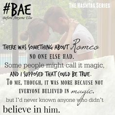 #Bae Cambria Hebert (Hashtag #8: Conclusion) Publication date: September 16th…