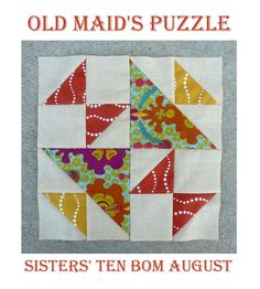 Gen X Quilters (& Y too) uses triangles beautifully in this month's block, featuring our Lucky Penny collection by Alison Glass Design. Click on the picture to see the full tutorial.
