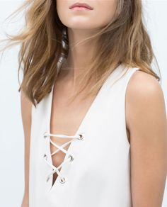 TIE - NECK DRESS - View all - Dresses - WOMAN | ZARA United States