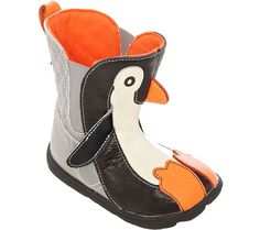 Kids' Zooligans Tux the Penguin Boot $44.95 #FunBoots #Shoebuy #GiftGuide