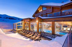 Idéal pour une détente 5* au coeur de Courchevel... #NUXE #Spa #SpaNUXE #Détente #BienEtre #Cocooning #Beauty #Courchevel #ski