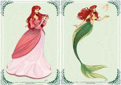 Ariel by AzureOcean. That is a cool tail. Disney Dream, Disney Girls, Disney Love, Little Mermaid Characters, Ariel The Little Mermaid, Disney Concept Art, Disney Fan Art, Disney Images, Disney Pictures