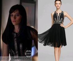 Nashville: Season 4 Episode 18 Layla's Black Studded Dress