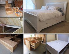 DIY king size bed
