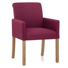 PB Classic Square Arm Upholstered Dining Armchair, Gray Wash Frame, Performance Everydaylinen(TM) by Crypton(R) Home Stone Dining Arm Chair, Upholstered Dining Chairs, Japanese Restaurant Interior, Cosy Corner, Kiln Dried Wood, Purple Fabric, Mortise And Tenon, Outdoor Chairs, Solid Wood