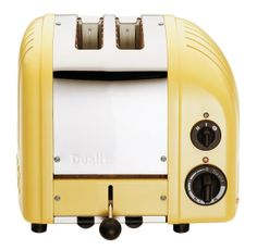 DUALIT Classic 2-Slice Toaster Canary Yellow $199.95 OUT THE DOOR! PICK UP OR WE WILL SHIP FREE * TOP BRANDS * LOWEST PRICES CULINART www.shopculinart.com