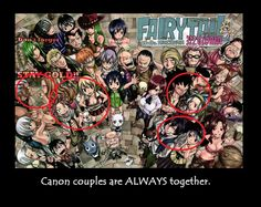Yeah, they are ALWAYS together. <3 <3 Only Jerza was left out, but it makes sense considering their complications... :(