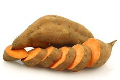 Did you know sweet potatoes help fight stress? Check out these 3 Reasons Why We're Sweet on Sweet Potatoes with recipe ideas!! #superfood #healthy