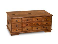 aus massiv Sheesham / indisches Rosenholz / Hartholz gefertigt, unregelmäßigkeiten in Verarbeitung und Farbe sind gewollt, unterstreichen den Charter der Möbel