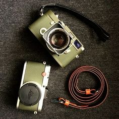 Leica MP and X2, in beautiful olive!