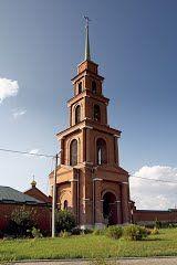 Колокольня монастыря. Тюнино