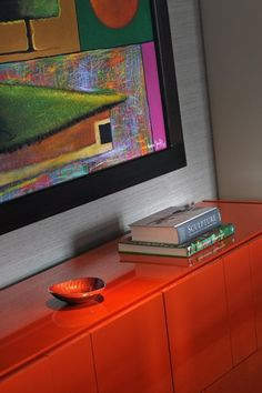 Wonderful St Pancras Home Design Interior Used Orange Glossy Desk Furniture In Contemporary Decoration Ideas For Home Inspiration