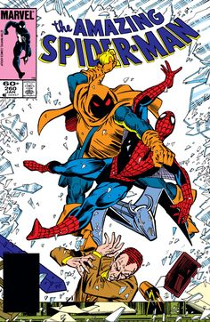 Cover to Amazing Spider-Man #260