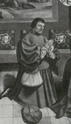 John III, Duke of Cleves, Father of Anne of Cleves (1491-1543). Known as John the Peaceful for his attitude of striving for a middle ground between the two stridently competing faiths during the Protestant Reformation. His Court was Catholic, but anti-papal, and was influenced by Erasmus, w/ whom he consulted personally. He was very wealthy, w/ strategically placed territories on the Rhine, which would have appealed to Thomas Cromwell when he negotiated Anne's marriage contract for Henry…