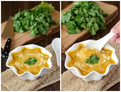 Butternut Squash Coconut Curry Soup from www.thenovicechefblog.com