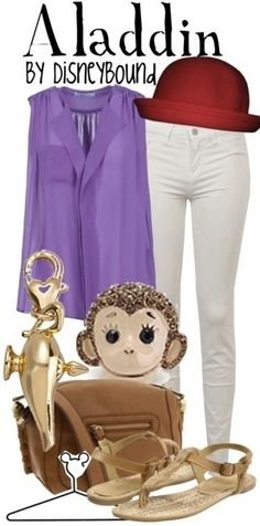 Outfits Inspired by Disney Princesses | Aladdin | Disney Princess Inspired Outfits
