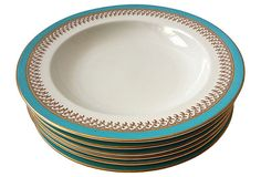 Royal Worcester Soup Plates, S/6 on OneKingsLane.com